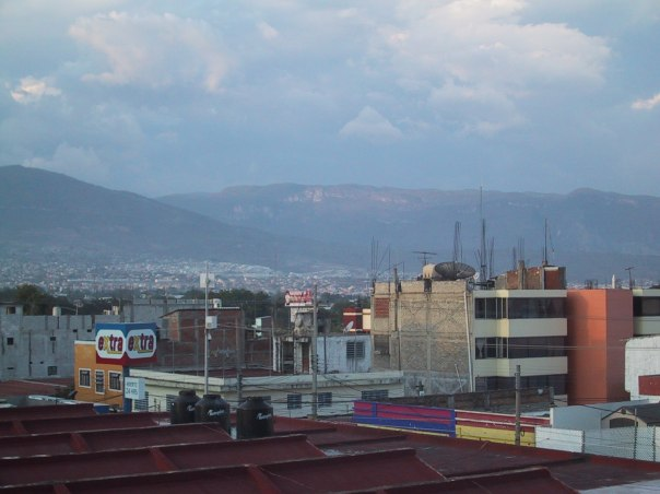 Tuxtla from the roof of my hotel