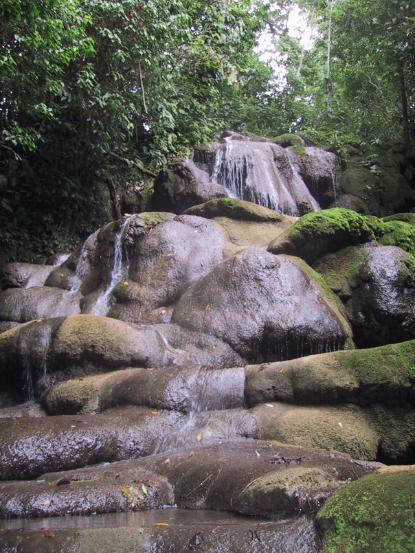 Waterfalls in Palenque
