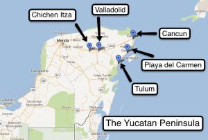 The Yucatan Peninsula