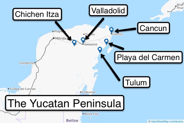 Day 1 c Yucatan