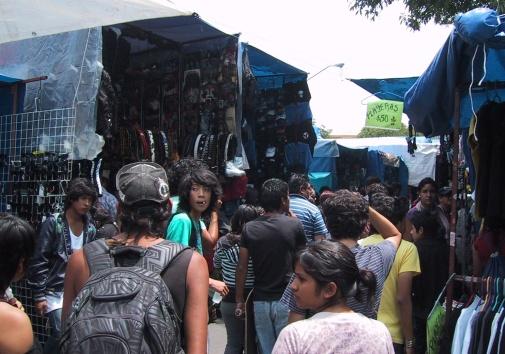 El Chopo, Mexico City's rock market
