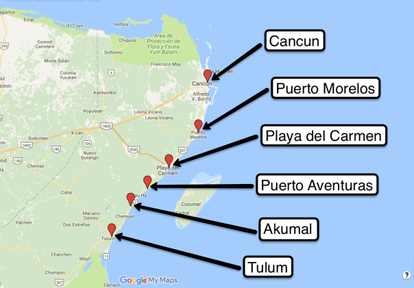 towns of mayan riviera