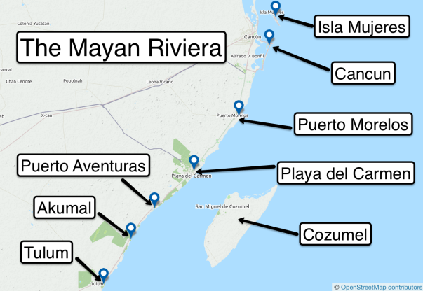z App d mayan riviera