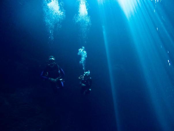 cenote dive 12